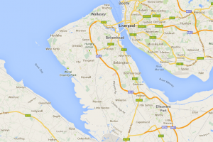 Map of Wirral